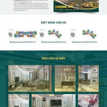 mẫu bất động sản 1 dự án