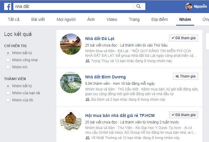 Cách tìm kiếm khách hàng bất động sản qua facebook