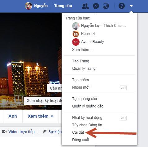 Cách hiển thị số người theo dõi trên facebook