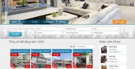 Dịch vụ thiết kế website bất động sản tại Biên Hòa Đồng Nai