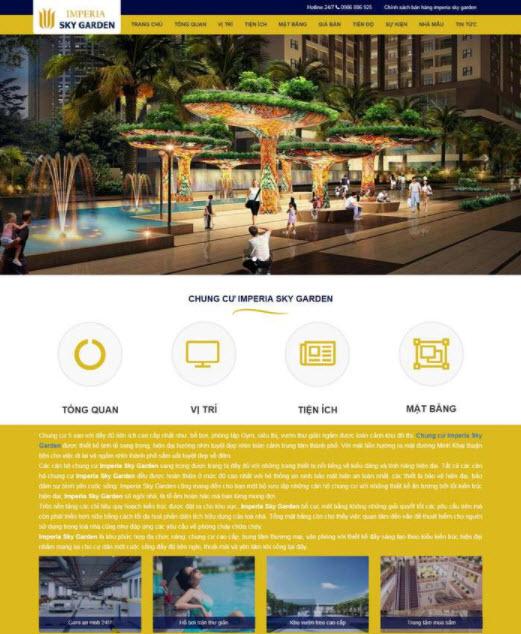 Dịch vụ thiết kế website bất động sản tại Biên Hòa Đồng Nai chuẩn SEO