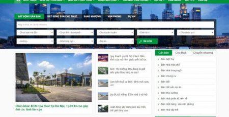 thiết kế website mua bán nhà đất chuyên nghiệp SEO hiệu quả