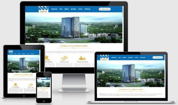 Dịch vụ thiết kế website bất động sản tại Hà Nội
