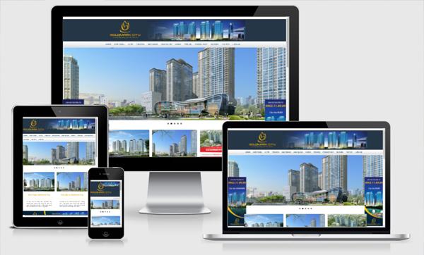 Thiết kế website bất động sản tại Hà Nội chuẩn SEO hiệu quả