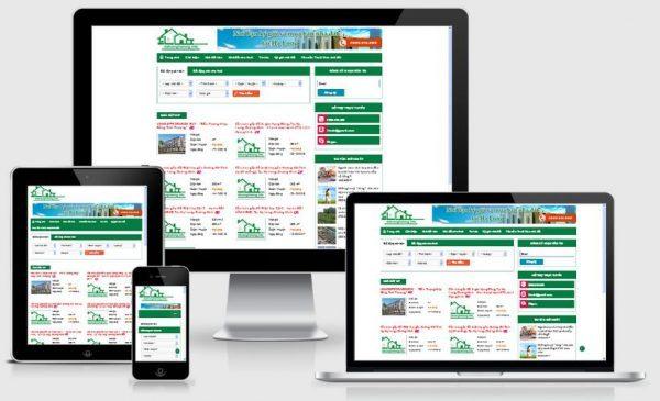 Thiết kế website bất động sản tại Hà Nội giá rẻ tiết kiệm chi phí