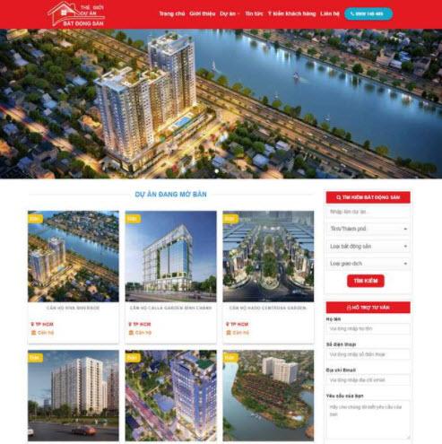 Dịch vụ thiết kế website bất động sản tại Đà Nẵng