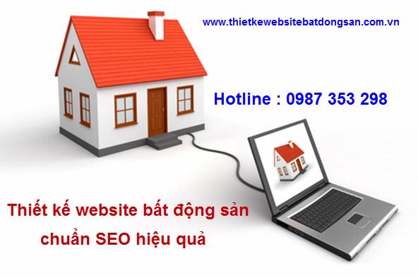 Thiết kế website bất động sản giá rẻ kinh doanh hiệu quả