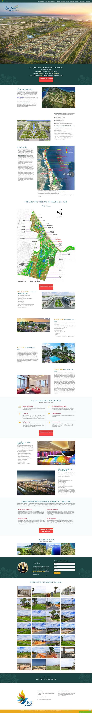 giao diện web bds 1 dự án landing page 2019
