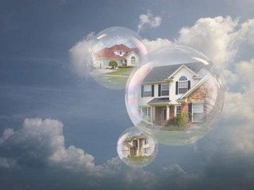 bong bóng bất động sản là gì