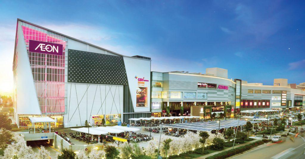 Tiện ích siêu thị aeon mall gần căn hộ aio city bình tân