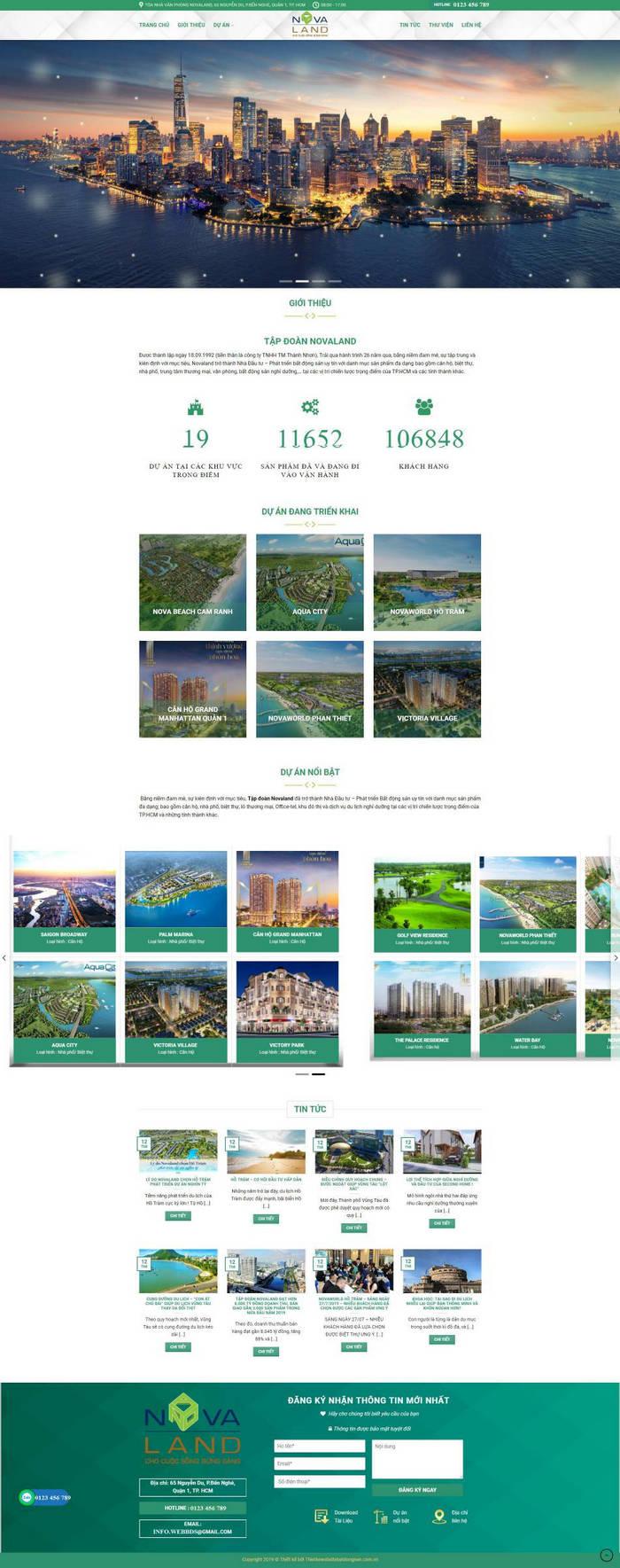 Dự án web tổng công ty M83