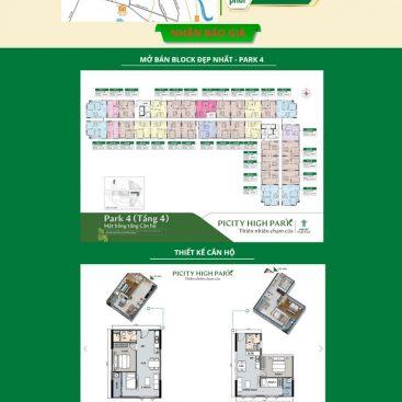 Mẫu web landing page bđs bán 1 dự án mới ra mắt M100